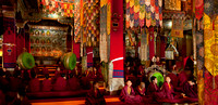 Monks in Tawang Monastery 2
