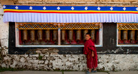 Prayer wheels Tawang Monastery