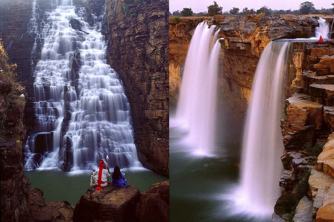 The Tiragarh and the Chitrakotfalls