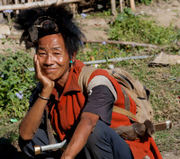 Ziro tribal man 2