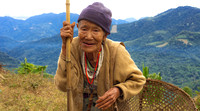 Tribal woman in Ziro